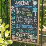 Sandbar happy hour