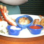 Another lobster and shrimp dish