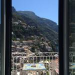 View of Positano from our room