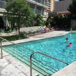 1st fl pool next to Tipliitsky's outdoor dining