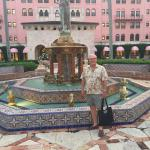 Mosaic tiles fountains, landscaping, statues add a flourish of elegance and old world charm.