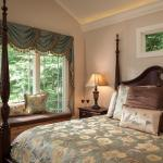 Luxury and privacy in the Carriage House Suite