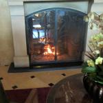 One of the Lobby Fireplaces, Meritage Resort and Spa, Napa, Ca