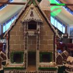 The biggest gingerbread house you have ever seen