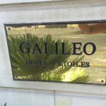 Photo de Hotel Galileo