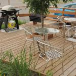 M6 patio and barbeque