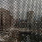 View from our room of Caesars palace