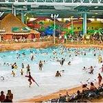The wave pool in Kalahari is simply amazing!