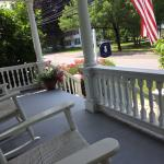 Front porch to rest