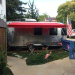 Front of Airstream