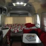 Interior of Airstream