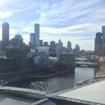 Great view of the Yarra River and city