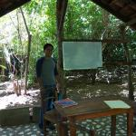 Classroom in the forest area