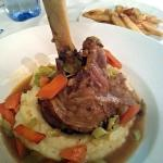 yummy melt in the mouth lamb shank