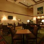 Homewood Suites BWI dining area