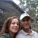 Me and my honey enjoying the outdoors!