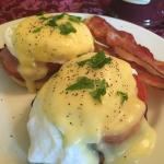 Eggs Benedict Breakfast at The Stocade