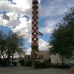 World's Tallest Thermometer Foto