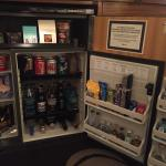 In room minibar - expensive!!