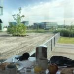 View at the breakfast area