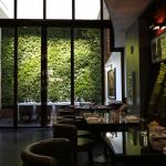 Living Wall in Il Principe, Hotel Hugo, NYC