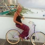 Free beach cruisers from our resort.
