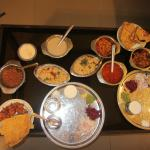 Awessommmeeeee food; Spl. veg meals for Lunch for 2