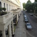 View of Lancaster Gate looking towards Hyde Park.