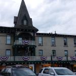 The Gananoque Inn and Spa entrance side