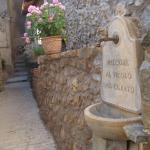 Fountain to fill your bottle when leaving the B&B.