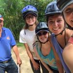our horseback riding guide Marvin & the girls