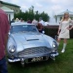 James Bond's DB5 at Hershey Elegance held at Hershey Hotel June 2015