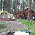 Site #3 and the lodge