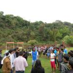at Rio Resort - instruction being given to students