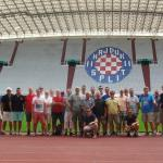 Visit at the Poljud Stadium of Hajduk Split
