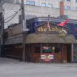 The Lodge, and old time favorite from when we lived in Chicago years ago.Still a great little ba