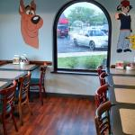 Looks spacious and clean.  The kids loved the paintings of their favorite cartoon characters