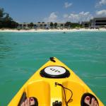 Kayak View from the Gulf