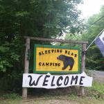entrance to campground
