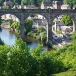 View of Knaresborough from the castle