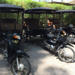 Vehicles Used for Trips to Temples