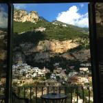 View from room on Positano