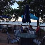 BeachFire Bar & Grille patio dining