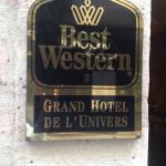 BEST WESTERN Grand Hotel de l'Univers resmi