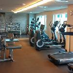 Get fit in the fitness center, right next to the pool