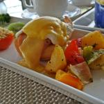 Egg Benedict breakfast
