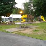 Childrens Play area.  Outdoor Picnic area