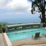 Pool overlooking Uvita below