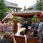 Wedding Ceremony in the Gazebo