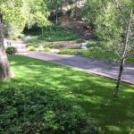 View from balcony towards creek